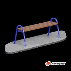 Скамья деревянная ARLS002