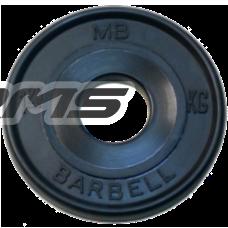 Диск BARBELL Евро-классик 1,25 кг MB-PltBE-1,25