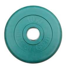 Диск обрезиненный цветной ProfiGym 51 мм