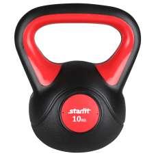 Гиря пластиковая, DB-502, 10 кг, красный