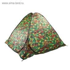 Палатка самораскрывающаяся, размер 200 х 200 х 135 см