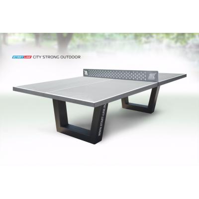Теннисный стол City Strong Outdoor - бетонный антивандальный теннисный стол.
