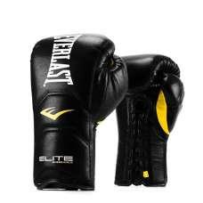 Перчатки тренировочные на шнуровке Elite Pro