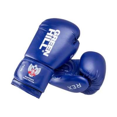 Перчатки боксерские BGR-2272F REX, 12 oz, синий