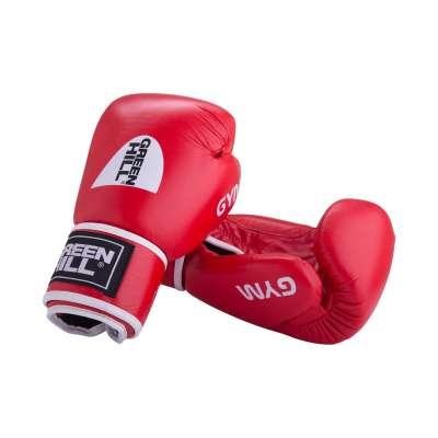 Перчатки боксерские GYM BGG-2018, 8-14oz, кожа