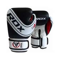 Перчатки боксерские KIDS WHITE/BLACK JBG-4B 4-6oz