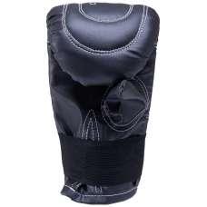 Перчатки снарядные, к/з, черный