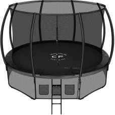 Батут Clear Fit SpaceHop 12Ft (366см) с внутренней сеткой и лестницей
