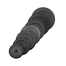Диск обрезиненный Антат, посадочный диаметр 26, 31, 51 мм