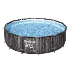 Каркасный бассейн Bestway Wood Style 5614Z, 427х107 см, полный комплект