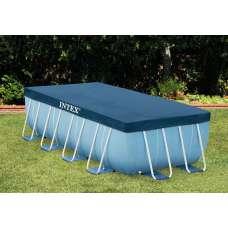 Тент Intex 28037 для прямоугольного каркасного бассейна 389х184см