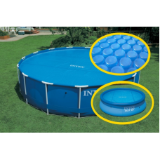 Тент солнечный Intex 29020 для круглого бассейна 244см