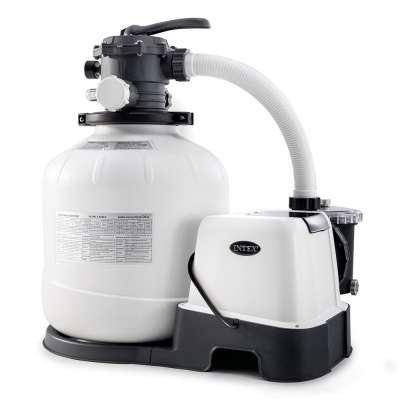 Песочный фильтр-насос + хлорогенератор, 1000 л/ч, Intex 26680