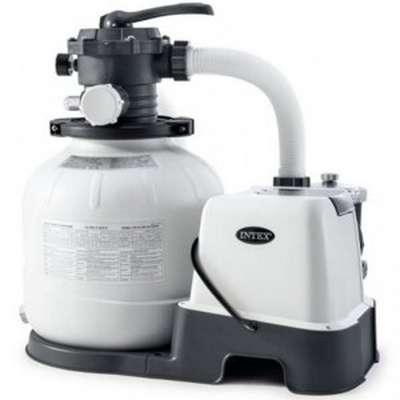 Песочный фильтр-насос + хлорогенератор, 6000 л/ч, Intex 26676