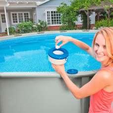 Дозатор 17,8см плавающий для бассейна Intex 29041