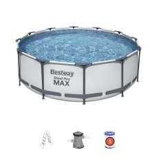 Каркасный бассейн Bestway 56418, 366х100 см, насос, лестница