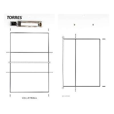 Тактическая доска для волейбола Torres TR1001V