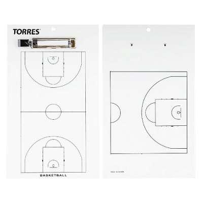 Тактическая доска для баскетбола Torres TR1003B