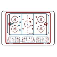 Тактическая доска для хоккея TOPO Magnetic TM6181-HOC