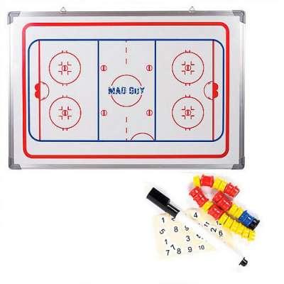 Тактическая доска для хоккея Mad Guy 45x60