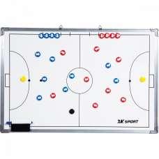 Тактическая доска для мини-футбола 2K Sport 60х90