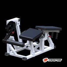 AR077 Сгибание-разгибание ног на свободных весах