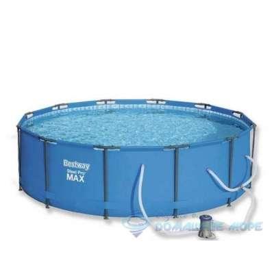 Каркасный бассейн Bestway Round Steel Pro 14415 (круг) 3,05х1,0м, с насосом