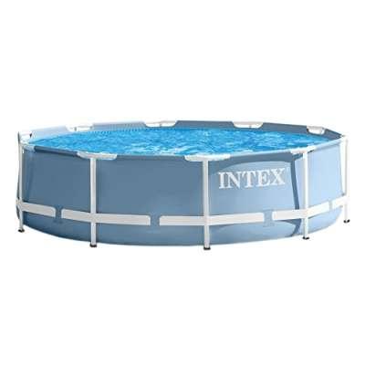 Каркасный бассейн INTEX Prism Frame Pool (круг) 3,66х0,76м, арт. 28710