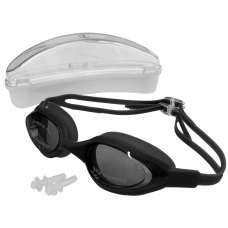 Очки для плавания силиконовые (линзы поликарбонат,с берушами) H10180