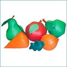Груши-качели «Фрукты-овощи»