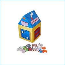 Мягкий игровой модуль «Кто в домике живет?»
