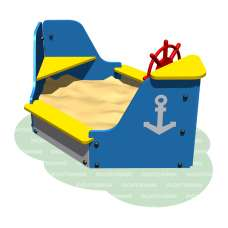 Песочница Лодка Romana