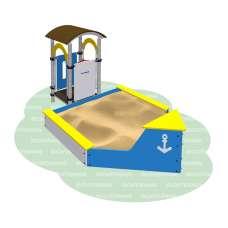 Песочница «Корабль» Romana