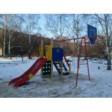 Детский игровой комплекс «Счастливое детство» ДИК 06