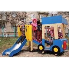 Детский игровой комплекс «Грузовичок» ДИК 1102 H=750