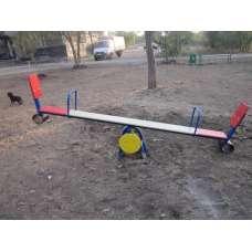 Качалка балансир со спинкой ИО 111
