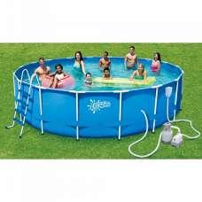 Каркасный бассейн круглый 549х132см SummerEscapes P20-1852-S