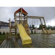 Деревянная детская площадка Пикник Макси с рукоходом