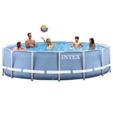 Каркасный бассейн INTEX Prism Frame Pool (круг) 3,05х0,76м