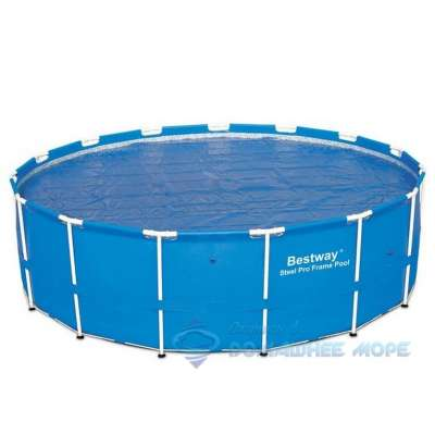 Каркасный бассейн Round Steel Pro Bestway 15428 (круг) 3,66х1,33м