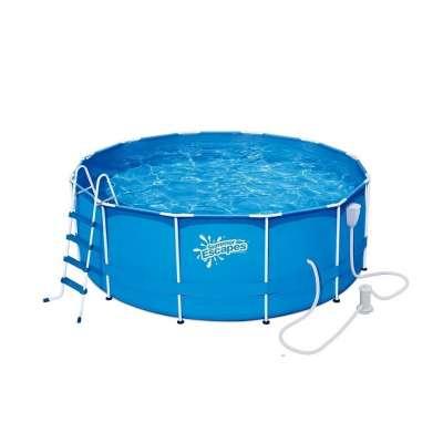 Каркасный бассейн Polygroup Summer Escapes P20-1042-B (круг) 3.05х1,07м с насосом, лестницей, тентом