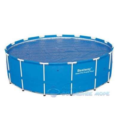Каркасный бассейн Round Steel Pro Bestway 14471 (круг) 3,66х1,22м