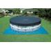 Каркасный бассейн INTEX Prism Frame Pool 28728 (круг) 4,57х0,84м, полный комплект