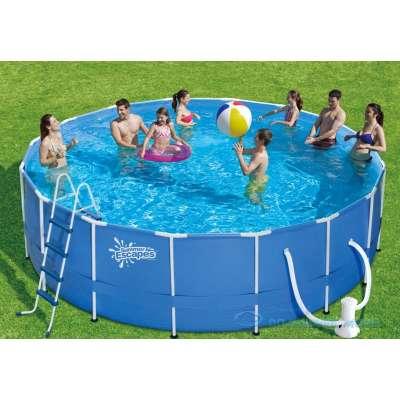 Каркасный бассейн Polygroup Summer Escapes P20-1552-B (круг) 4,57х1,32м, полный комплект