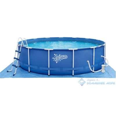 Каркасный бассейн Polygroup Summer Escapes P20-1252-B (круг) 3,66х1,32м, полный комплект