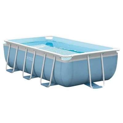 Каркасный бассейн INTEX Ultra Frame (прямоугольный) 3,00х1,75х0,80м, насос-фильтр, лестница