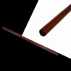 Макет Деревянный шест ДЗЁ, красный дуб, 50 дюймов