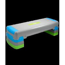 Степ-платформа SP-203, трехуровневая, 90,5х32,5х25 см