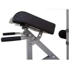 Гиперэкстензия/римский стул Body Craft F670 цвет diamond gray