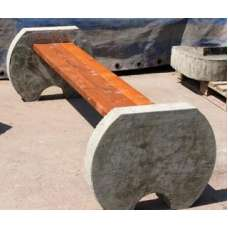 Скамья бетонная Ск